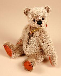 Nutmeg  Created by Paula Carter  www.allbear.co.uk    #teddy #bear #teddybear #bears    Bearing All