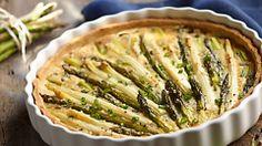 Tarta ze szparagami i cebulą #lidl #przepis #szparagi #cebula
