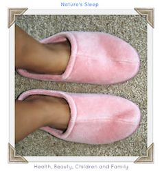 Nature's Sleep Slippers Review & Giveaway 7/13 - US ~ Health, Beauty, Children and Family