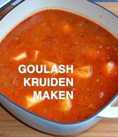 Om goulash kruiden te maken heb je garam masala nodig. Natuurlijk kun je dit ook zelf maken: Kijk hier >>> voor het recept. Home Recipes, Healthy Recipes, Enjoy Your Meal, Vegan Stew, Herbs For Health, Homemade Spices, Spices And Herbs, Seasoning Mixes, Spice Mixes