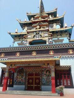 Bylakuppe, karnataka India.Golden temple