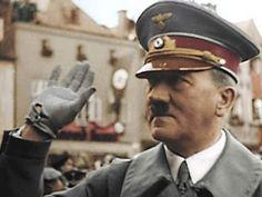 Адольф Гитлер в цвете.Adolf Hitler in color.The Second World War