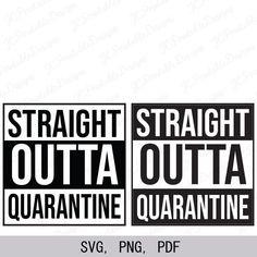 Excited to share this item from my shop: Straight Outta Quarantine SVG, Quarantine SVG Cricut Vinyl, Svg Files For Cricut, Cricut Stencils, Vinyl Decals, Vinyl Crafts, Vinyl Projects, Nursing Notes, Silhouette Machine, Cricut Creations