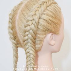 Braided Hairstyles Tutorials, Easy Hairstyles For Long Hair, Braids For Long Hair, Cute Hairstyles, Wedding Hairstyles, Hair Tutorials, Crazy Braids, Medium Hair Braids, Fishtail Braid Hairstyles
