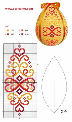 Orange and yello Celtic Cross Stitch, Mini Cross Stitch, Cross Stitch Heart, Beaded Cross Stitch, Cross Stitch Borders, Cross Stitch Designs, Cross Stitching, Cross Stitch Embroidery, Cross Stitch Patterns