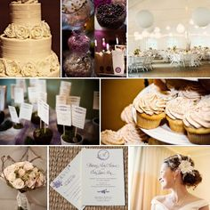 Inspiration Boards, Ivory and Lavender Weddings | WeddingWire: The Blog