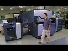 The new HP Indigo 7600 Digital Press - La tecnología HP Indigo ofrece una muy buena calidad e impresión y algunas máquinas permiten una gran rapidez de producción además de imprimir sobre una ámplia gama de sustratos