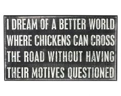 Chicken dreams