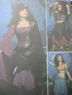 Steam Punk Gypsy Exotic Dance Stage Play Halloween Elaine Heigle Design Feminine Costume Simplicity 4484 UNCUT Sewing Pattern Sizes 14 to 20 Dance Stage, Stage Play, Halloween Patterns, Costume Patterns, Exotic Dance, Raggedy Ann And Andy, Sewing Patterns For Kids, Steampunk Costume, Stitch Design