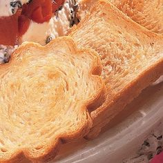 Canapé French Bread using Pampered Chef scalloped bread tube Pampered Chef Bread Tube Recipe, Pampered Chef Party, Pampered Chef Recipes, Cooking Recipes, Bread Appetizers, Appetizer Recipes, Snacks Recipes, Bread Maker Recipes, Easy Eat