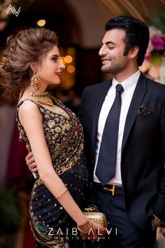 Pakistani couple by zaib alvi Asian Wedding Dress Pakistani, Pakistani Bridal Makeup, Pakistani Formal Dresses, Bridal Mehndi Dresses, Desi Wedding Dresses, Party Wear Dresses, Bridal Outfits, Shadi Dresses, Asian Bridal