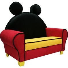 Disney Mickey Mouse Deluxe Sofa with Storage