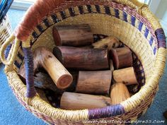 Reggio Materials for open-ended/discovery play