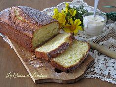 plumcake soffice allo yogurt Yogurt, Plum Cake, Breakfast Time, Sweet Bread, Crepes, Nutella, Banana Bread, Muffins, Cheesecake