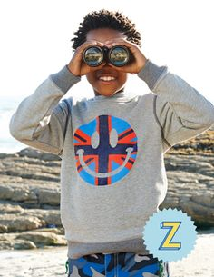 View our cozy collection of boys' sweatshirts and fleeces at Boden. Grey Sweatshirt, Graphic Sweatshirt, Boden Clothing, Cute Boy Outfits, Kids Fashion, Fashion Outfits, Back To School Outfits, Mini Boden, Cute Boys