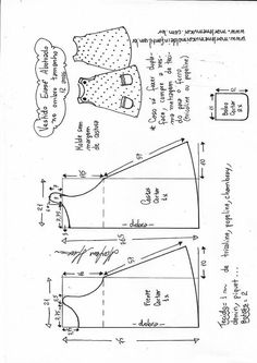 Trendy Sewing Patterns For Baby Clothes American Girls 58 Ideas Sewing - Diy Crafts Baby Girl Dress Patterns, Baby Clothes Patterns, Sewing Patterns For Kids, Dress Sewing Patterns, Pattern Sewing, Sewing Baby Clothes, Baby Sewing, Sewing Diy, Doll Clothes