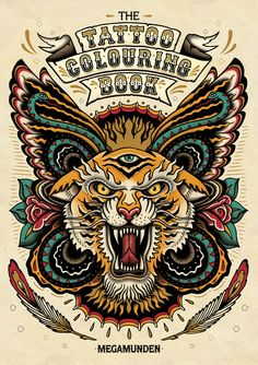 Tattoo Coloring Book By Oliver Munden Jo Waterhouse