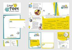 Brand Identity Design for Little Feet Playgroup