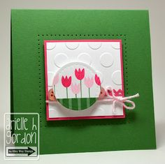 Snappy Stampin' w/ Arielle: MORE AWESOME BLOSSOMS / using the Alley Way Stamps' Awesome Blossom