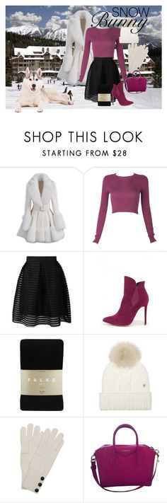 """""""Ski Lodge Chic!"""" by briannaandrews500 ❤ liked on Polyvore featuring Liliana, Falke, Woolrich, Wyatt and Givenchy"""