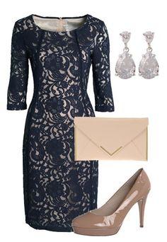 So stylen Sie Kates Look nach - Kate Middleton Style - so geht's! - Elegant mit einem Hauch Luxus: Spitzenkleider sehen edel aus - vorausgesetzt, Schnitt, Farbe, Material und Verarbeitung stimmen. Mit einem Modell, das hochgeschlossen und knielang ist, liegt man jedenfalls immer goldrichtig...