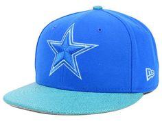Dallas Cowboys  NFL Stingray New Era 59fifty Teal Fitted Flatbill Hat Cap  7 1 2 from  19.95 8adbf20f130