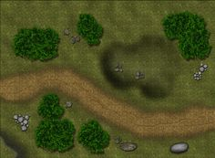 Road Encounter Battle Map from Cartographers' Guild