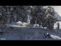 TheArtofSaul - 3D Matte Painting - Redshift Render - YouTube