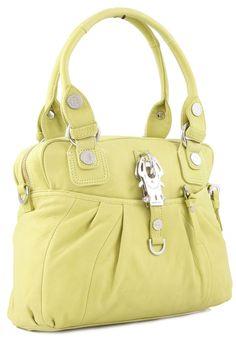 wardow.com - Tasche von George Gina & Lucy, 2Zen, gelbgrün    ***** Ich liebe zarte Frühlingsfarben und besonders schön ist dieses gelbgrün. Tolles Design, tolle Farbe, lässt sich super kombinieren. *****  #wardowlieblingstaschen und @wardow