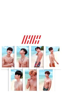 iKON Wallpaper set: Kony's summertime cr: cr.camikonic