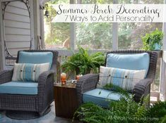 Summer Porch Decorat