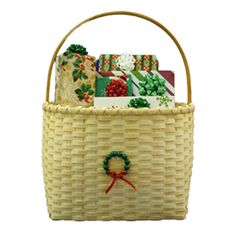 *Home for the Holidays Basket - ncbw pattern