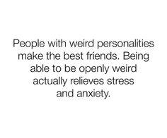 be weird ✌️