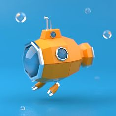Summer Doodles on Behance Modelos Low Poly, Modelos 3d, 3d Design, Game Design, Low Poly Car, 3d Cinema, Low Poly Games, Polygon Art, 3d Figures