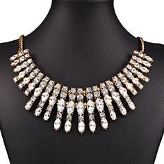 Rhinestone Statement Necklace Beautiful and new! Jewelry Earrings