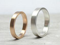 Gegensätze ziehen sich an... Unterschiedliche Ringe, für unterschiedliche…
