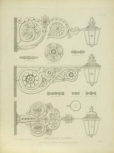 Examples of ornamental metal work