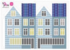 #Paper #Toy #House par Solange ABAZIOU pour Le Quai Angers - Paper House – Maison de papier – Modèle 9 - http://soyou.fr/