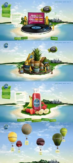 Chiquita | #webdesign #it #web #design #layout #userinterface #website #webdesign <<< repinned by an #advertising #agency from #Hamburg / #Germany - www.BlickeDeeler.de