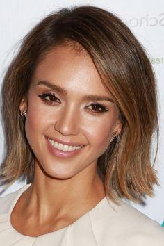 Mieux en blonde ou brune ? hairstyle Jessica alba hair