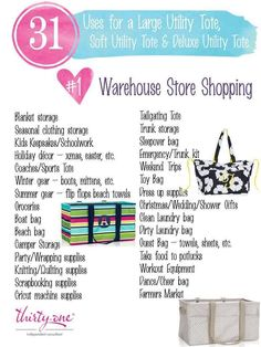 31 uses for thirty one