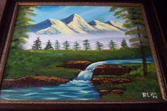 Bob ross painting classes hobby lobby