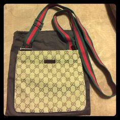 Gucci Messenger Bag/Purse!