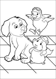 Wonder Pets Coloring Pages 4