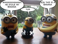Minion talks