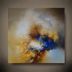 Große abstrakte Gemälde von Simon Kenny von SimonkennysPaintings
