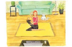 Online Yoga Classes Aid Busy Schedules - WSJ.com