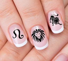 Hey, I found this really awesome Etsy listing at https://www.etsy.com/listing/246134641/free-shipping-30-leo-nail-art-zle-zodiac