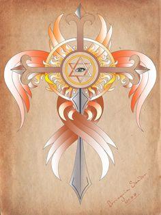 My Cross by Vidocq73.deviantart.com on @DeviantArt