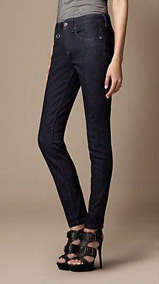 Look 6. Burberry Skinny Jeans